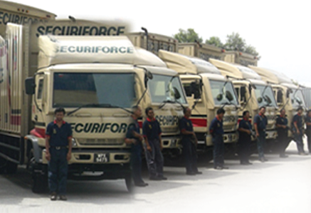 Armoured Trucking Services